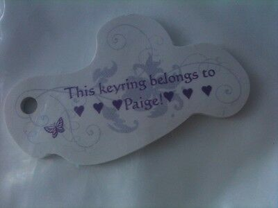 Paige Keyring • Brand New In Package • Free Postage