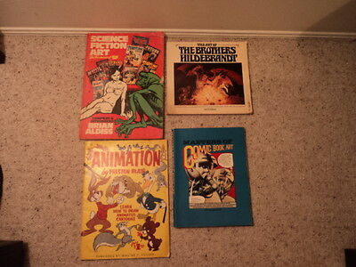 Look Bulk Lot Of Vintage Collectable Comic Book Art Inc Fantasy Science Fiction