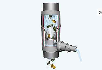 Regendieb Rainwater Harvesting Self Cleaning Water Butt downpipe and IBC filter