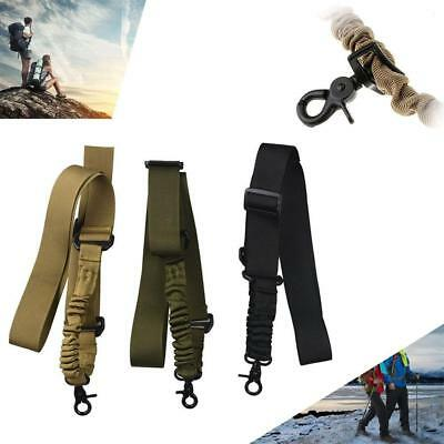 Adjustable Tactical One Single 1 Point Bungee Airsoft Sling Strap For Gun New BN