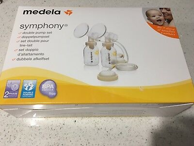 ❤️Medela Symphony Breast Double Pump Set