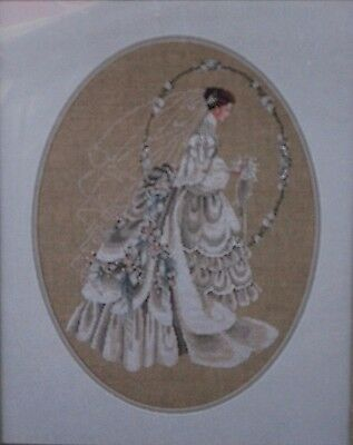 The Bride - Lavender and Lace Cross Stitch chart
