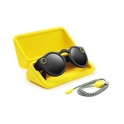 Spectacles Snap Camera Glasses For Snapchat in Black