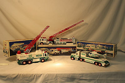 Lot-of-3-Hess-Collectables- Toy Trucks