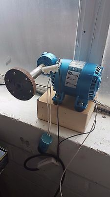 Parvalux MSD8 Reversible Induction AC Motor and Worm Gearbox (sold as seen)