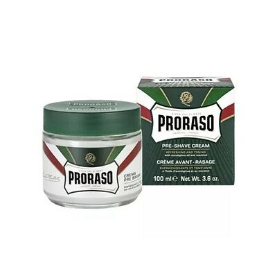 Proraso Green Pre-Shave Cream with Eucalyptus Oil and Menthol 100ml
