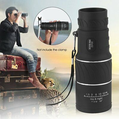 16x52 High Definition Compact Monocular Zoom Telescope Scope Coating Lenses  OS