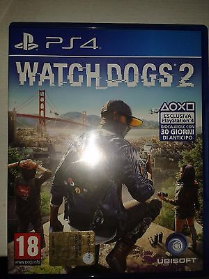 Watch Dogs 2 PS4 come nuovo