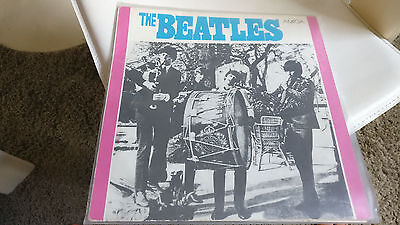 The Beatles--Same -- Amiga Lp--8 50 962