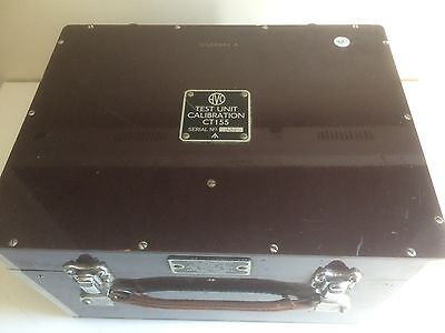 Vintage Avo Test Unit Calibration Model Nos. CT155