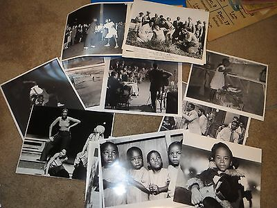 Vintage AFRICAN AMERICAN Black & White Photograph Collection