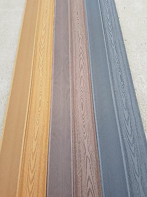 Quality composite decking by Toughdeck. Available in 3 stunning colours 4.8m