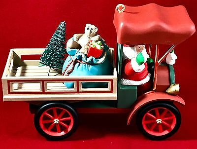 "1993 Hallmark collectors series ""Here comes Santa"" Happy Haul-idays"