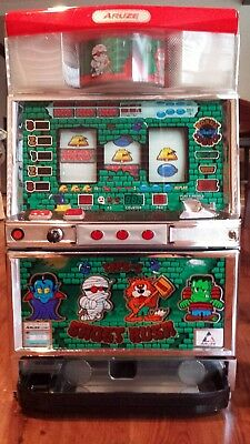 Table Top Slot Machine Excellent Working Condition Pachislo Ghost Rush Aruze Co.