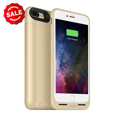 NEW Mophie Juice Pack Air Battery for iPHONE 6 7 7P Wireless Charging Case Gold