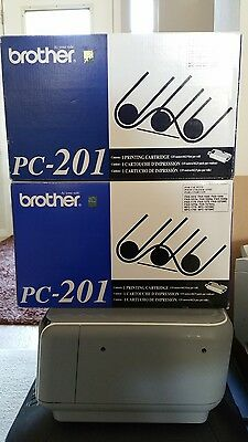 2 Pack of Brother PC-201 Fax Cartridges