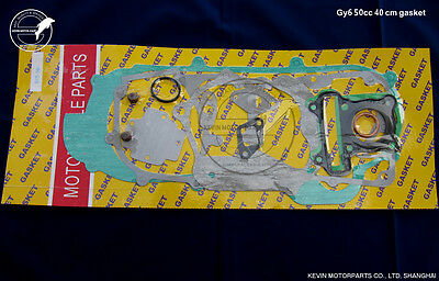 40cm Complete Gasket set GY6 49cc 50cc 139QMB Chinese Scooter Moped Powersports