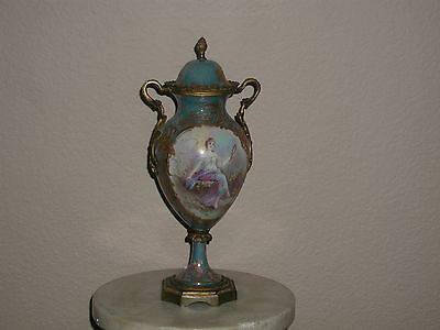 Sevres Style Urn/vase Circa 1900 Absolutely Beautiful! Gorgeous Colors!