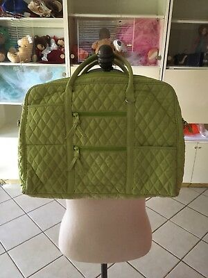 NWT Vera Bradley Laptop Case/bag Lime green