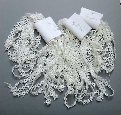 "Vintage Tatting Lace Trim - Hugh Lot - 19 yards 26"" Crafting & More - Excellent"