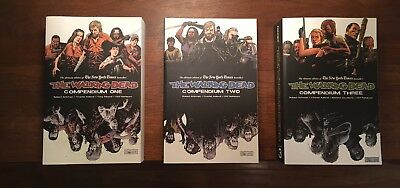 The Walking Dead Compendium 1, 2 And 3, TPB Lot, Graphic Novel
