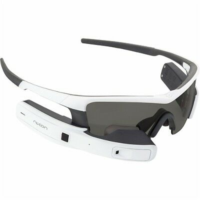 NEW Recon Jet Smart Eyewear for Sports and Fitness White - 900-00064