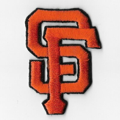 San Francisco Giants SF MLB Iron on Patches Embroidered Applique Badge