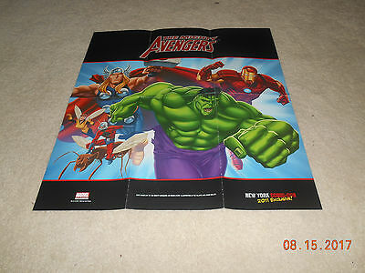 Mighty Avengers Double-sided poster from New York Comic-Con 2011