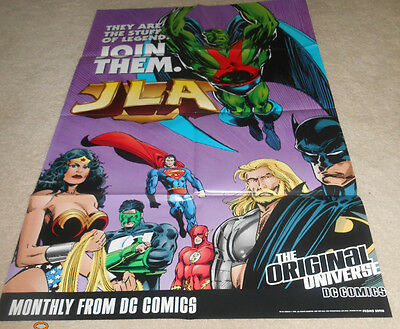 Justice League of America( JLA) poster from 1998