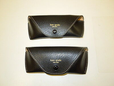 Brand New- (2) Two Kate Spade Soft Cases- Fits Optical Or Small Glasses  $11.95