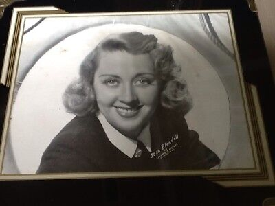 REVERSE PAINTED Art DECO FRAME BLACK SILVER Joan Blonde Columbia Pictures