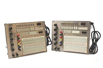 [Lot of 2] RSR Electronics PAD-234A Digital / Analog Trainer