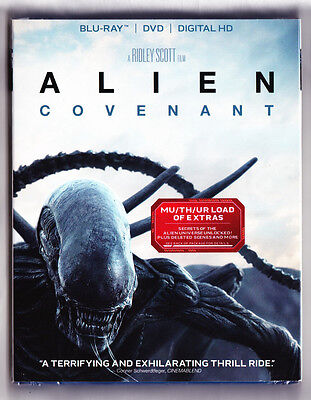 Alien Covenant Blu-ray DVD Digital Brand NEW FREE~Frist Class Shipping!