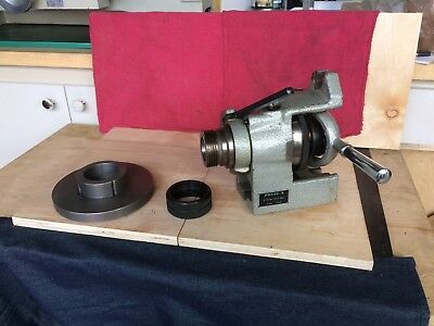 "Phase II Horizontal/Vertical 5c Collet Index 226-206 Feature w/6"" Chk Back Plate"