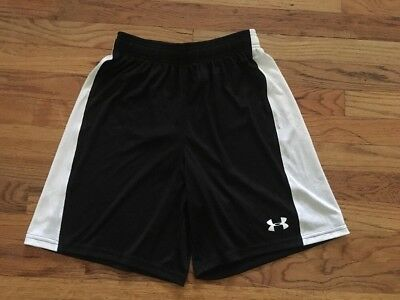 Under Armour Boys Youth Shorts Size Small Loose Fit