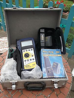 Pat testing equipment Unitest and fuse and cable locator