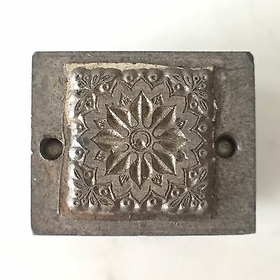 Double Sided Kwikprint Decorative Embossing Block for Bookbinding