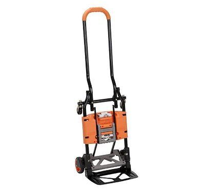 300 lb. 2-in-1 Convertible Hand Truck and Cart Heavy Duty Industrial Dolly NEW