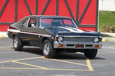 1972 Chevrolet Nova 1968 1969 1970 1971 NOVA CAMARO MINT SHOW YENKO 1972 Chevrolet Nova -SS-427-SHOW CAR PAINT-4 SPEED-TENNESSEE CAR-YENKO CLONE-