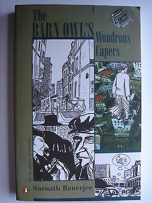 Sarnath Banerjee - The Barn Owl's Wondrous Capers **SIGNED** India graphic novel