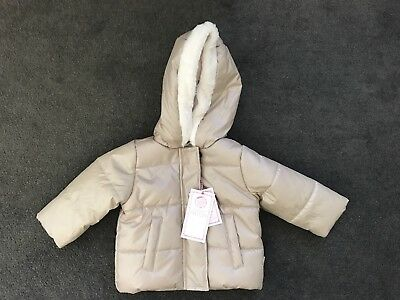 Pumpkin Patch Baby Girl Size 00 Puffer Vest And Jacket