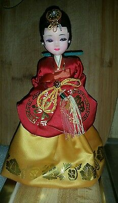 Vintage Korean Dressed Tradition Doll BEAUTIFULLY DETAILED