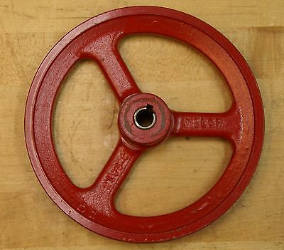 """Welch Cast Iron 7""""  7-Inch  V-Belt Pulley  No. 2193 C"""