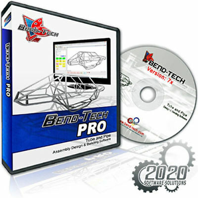 Edwards HATBENDTECH Bend-Tech Pro CAD Software with Full 3D Assembly New