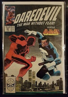 Daredevil #257 vs. The Punisher - Marvel Comic Book (bagged & boarded)