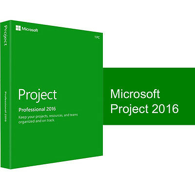 Project Professional 2016 1 User Full Software Download