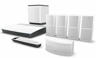 Bose Lifestyle 600 home theater system (WHITE) Brand NEW