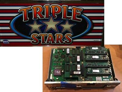 IGT 044 MPU with Flashboard WITH TRIPLE STARS SOFTWARE!