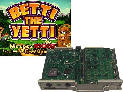 IGT 044 MPU with Flashboard WITH BETTI THE YETTI SOFTWARE!
