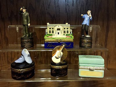 PHB Midwest of Cannon Falls Elvis The Entertainment Series  6 pcs +Display Shelf